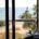 Havsutsikt från hotellrummet