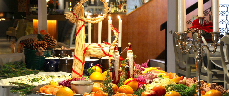 Julbuffé för avhämtning Smygehus Havsbad